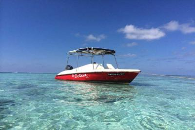 6 passenger Octave Speed Boat - Fishing Trips, Sand-Bank,  snorkeling &  Diving