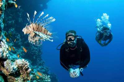 Scuba diving, first experience with diving with private instructor