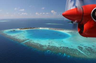Daily sea plane photo flights.
